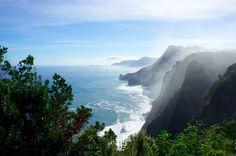 Sea breeze on a january morning at Quinta do Furão, Santana, Madeira, Portugal