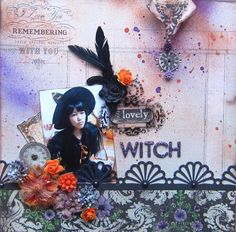 Lovely WITCH - Scrapbook.com