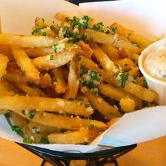 Truffle fries at Hopdoddy Burger Bar in Austin, Texas | 23 French Fries You Need To Eat Before You Die