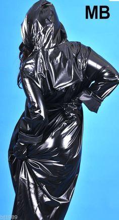 Regenmantel Raincoat Rainwear Impermeable Manteau de pluie PVC -kein Gummi #RaincoatsForWomenShoes