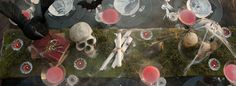 Little Big Company   The Blog: Halloween Tablescape by Style Soiree
