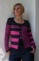 Ravelry: Stripes gone crazy pattern by atelier alfa #knitspirationpdx