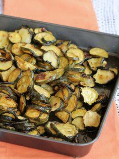 ZUCCHINE AL FORNO CON ACETO ricetta contorno semplice