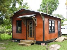 historic shed cottage in Florida.14'x16' Custom Guest Cottage
