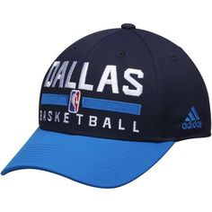 Dallas Mavericks adidas 2Tone Practice Structured Adjustable Hat - Navy - $21.99