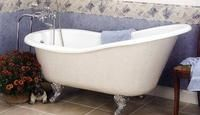 How to Clean Cast Iron Tubs.