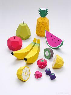 Paper Fruit - Mr Printables