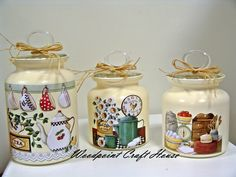 #diy #handmade #woodpointcrafthouse #gift #painting #countrypainting #decopage #stencil #handpainting #tea #coffee #sugar