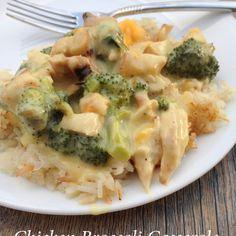 Chicken Broccoli Casserole Recipe Main Dishes with cream of chicken ...