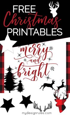 Free home decor printables for the Christmas decorating. Print and dowload buffalo check art work, star patterns deer antlers and more. plus get get tips on how to decorate for Christmas on a budget. Christmas On A Budget, Christmas Signs, Winter Christmas, Christmas Time, Christmas Decorations, Christmas Ideas, Buffalo Check, Ornament Hooks, Diy Ornaments