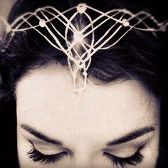 DIY elvish headress