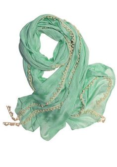 I am in love with this color, and i would love a scarf like this.