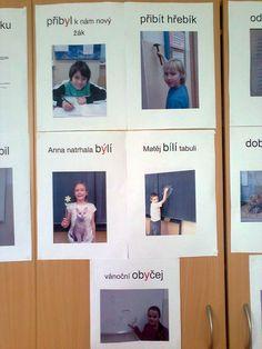 Vyjmenovaná slova a slova příbuzná Tvoří žáci Polaroid Film, Education, Literatura, Onderwijs, Learning