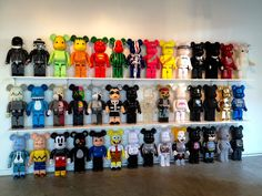 bearbrick t.o.p collection - Google Search