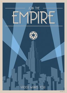 Star Wars Art-Deco-Style Poster – Join the Empire! – Imgur