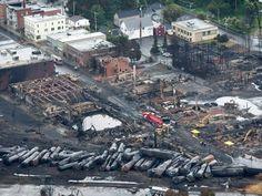 Rail chief blames employee in Quebec train crash