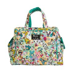omg! i should have waited to get this instead of the timi & leslie bag! tokidoki x Ju.Ju.Be Be Prepared Diaper Bag TokiPerky