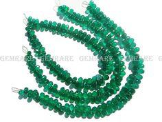 Green Onyx Faceted Drpos 3.50x5.50 to 4x7 mm Quality AAA 18 #greenonyx #greenonyxbeads #greenonyxbead #greenonyxdrops #dropsbeads #beadswholesaler #semipreciousstone #gemstonebeads #gemrare #beadwork #beadstore #bead