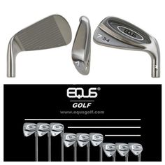 EQUS Golf debuts the 2017 EQUS A-1 irons A Single Complete Iron Solution. Designed by a collaboration of Jeff Sheets Golf and Lytle Research & Development Corporation (LRDC) this unique line of golf clubs highlight traits of both traditional length and single length irons.  The EQUS A-1 is a revolutionary new cavity back mid-sized iron made from soft 431 Stainless Steel. Its unique design offered in identically matched combinations of three progressive lengths features a 100% CNC precision…