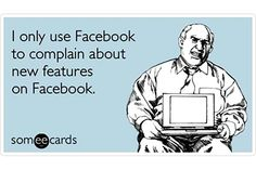 Get a funny take on today's popular news, entertainment, lifestyle, and video content -- all written by the people who bring you those funny ecards. Facebook Humor, Facebook Face, About Facebook, Facebook Marketing, Funny Pictures For Facebook, Funny Images, Funny Pics, Facebook New Features, Social Media Humor