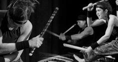 Wadokyo - japońskie bębny #taiko, koncert #WrocLove Fest 26 czerwca 2014 #Wroclaw
