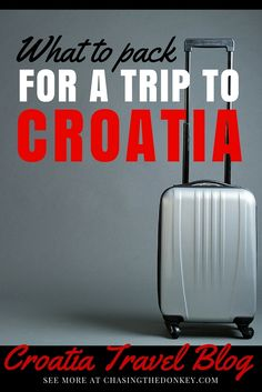 What to Pack For Croatia Packing List. If you want to fit in with the local women while making your packing list for Croatia, think seaside glamor and effortless chic. Chasing the Donkey Travel Blog shows you how here.