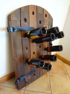 Wine rack  Upcycled wine rack  Reclaimed wood by ReclaimedRedwood, $325.00