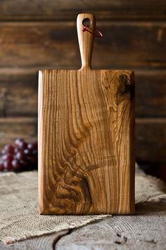 Hand crafted serving board