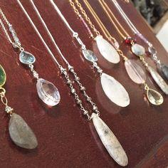 Bronze Rutilated Quartz-Rose Quartz-Garnet and more!  www.halliescomet.com Fine Jewelry, Women Jewelry, Jewelry Making, Rutilated Quartz, Handcrafted Jewelry, Rose Quartz, Garnet, Artisan, Bronze