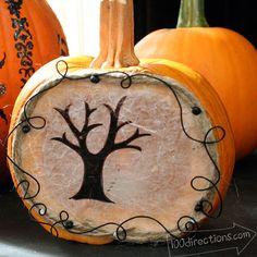 Little pumpkin luminary