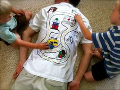 Adorable shirt! Great photos celebrating the love of our dads for Father's Day