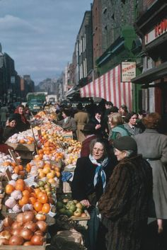 Dublin, Ireland, 1950. More