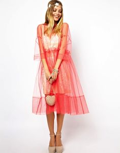 Molly+Goddard+for+ASOS+Salon+embroidered+long+sleeve+smock+dress+neon+pink+or+white+1.jpg (648×827)