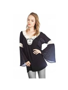 Bohemian Love Tunic, Black