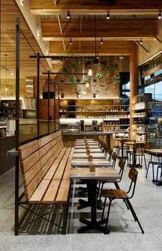 Open my restaurant with a bar Döner Restaurant, Restaurant Concept, Restaurant Seating, Cafe Bar, Cafe Shop, Bar Interior, Restaurant Interior Design, Architecture Interior Design, Industrial Restaurant Design