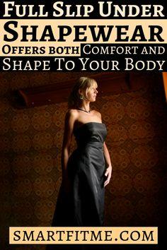 Smart Fit Me Women Slimming Full Slip for Under Dresses Full Body Shaping Control Slip
