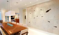 Fish Fossil Wall Art, Furniture, and Custom Interiors | Green River Stone Company