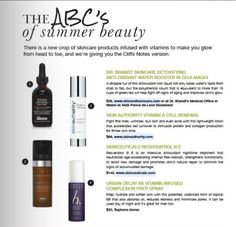 Ready for summer beauty boot camp? South Florida Luxury Guide locked down the ABC's of summer beauty, featuring my detoxifying anti-oxidant water booster goji maqui to help you glow from head to toe.