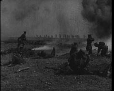 A still from the classic 1925 filmed reconstruction of Ypres: http://britishpathe.wordpress.com/2013/02/19/ypres-1925-film/