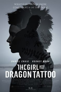 David Fincher's The Girl with the Dragon Tattoo  I didn't expect to like this film--another US remake of an already fantastic and recent film--but I did.  In fact, I liked it better than the original.  It stuck pretty close to the book and gave a deeper insight into the characters.  RM was fantastic!