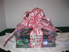Merry Christmas Peace Joy Ribbon with MULTI by Originalsbysuej, $20.00