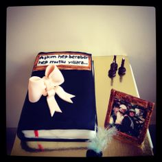 Kitap Pasta - Book Birthday Cake