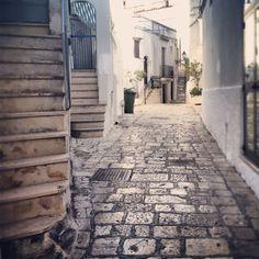 scorcio centro storico. Ceglie Messapica, Puglia