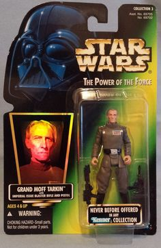 Grand Moff Tarkin Star Wars Action Figure The Power Of The Force Kenner Hasbro #Hasbro