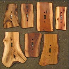 wohnen Switches, GFIs & Outlet Covers : Sisters Log Furniture, Handcrafted Western Gifts & Decor Is Western Decor, Rustic Decor, Rustic Wood, Log Decor, Log Cabin Decorating, Country Cabin Decor, Barn Wood Decor, Deer Decor, Barn Wood Crafts