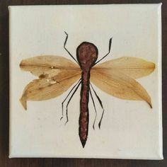 This canvas features one dragonfly made of pressed petals and acrylic black paint. The body is made of tiny pieces of cut up dark red rose petals and wings are small Lily petals. This is finished with clear varnish to seal and preserve the flowers. Dark Red Roses, Red Rose Petals, Preserve, Seal, Wings, Lily, Canvas, Unique Jewelry, Handmade Gifts