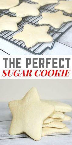 The Perfect Sugar Cookie Recipe - this has never failed me! // PrettyExtraordinary.com
