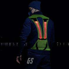 Special Section Led Wireless Cycling Vest Safety Led Turn Signal Light Bike Bag Safety Turn Signal Light Vest Bicycle Reflective Warning Vests Back To Search Resultssports & Entertainment