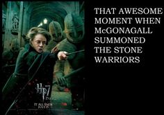 its all about McGonagall