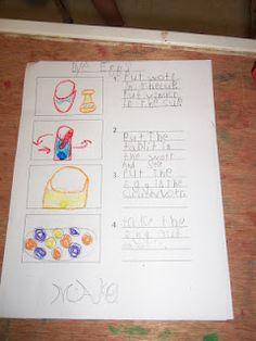 kindergarten writing ideas